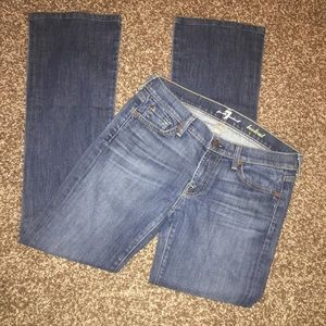 7 For All Mankind Bootcut Jeans Women's Size 28